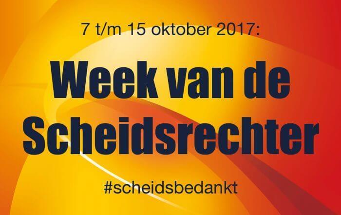 Week Van De Scheidsrechter Volleybalvereniging Bovo